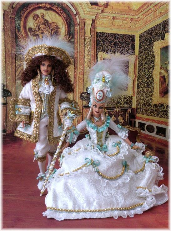 wife history marie antoinette barbie ooak doll from bethboul - Barbie Marie